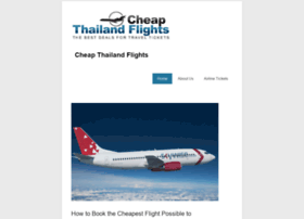 cheapflights2thailand.com